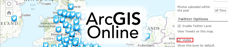 Tuto: Social Media Mapping with ArcGIS Online