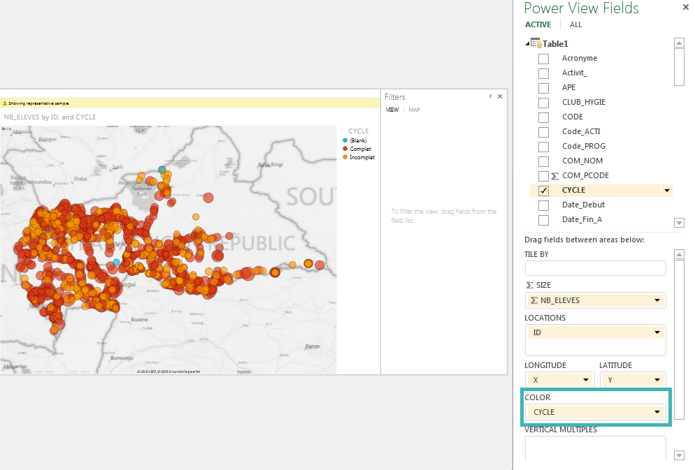 Tutorial Mapping points in Excel with PowerView CartoBLOG