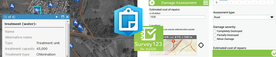 Test: Survey123 and Collector for ArcGIS