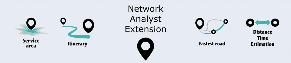 ArcGIS advanced training on the Network Analyst tool