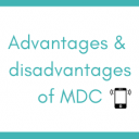 Advantages & disadvantages of MDC: a visual summary
