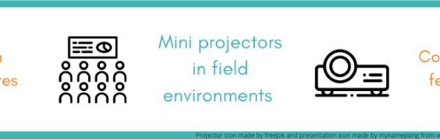 Are mini projectors really the perfect solution for field environments?