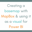 Creating a basemap with MapBox & using it as a visual for Power BI