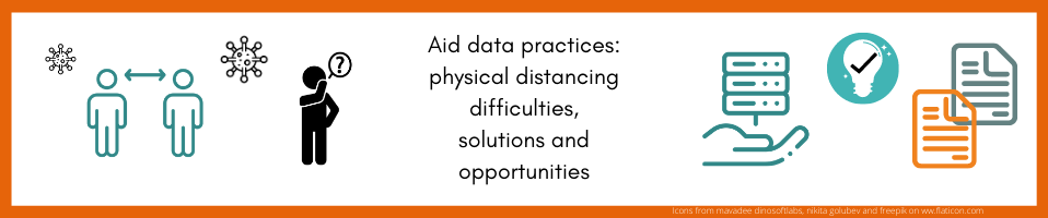 Findings from a Civil Society Organisations' workshop on the consequences of physical distancing on their data practices