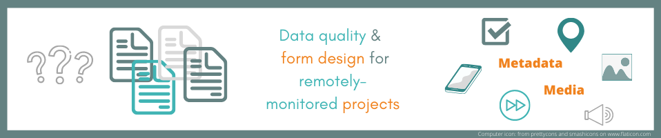 Making the most of Form Design in Remotely Monitored Projects – A data quality oriented approach