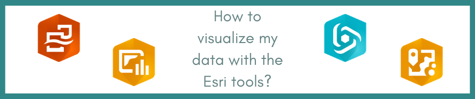 How to visualize my data with the Esri tools? A comprehensive benchmarking to help you through the process