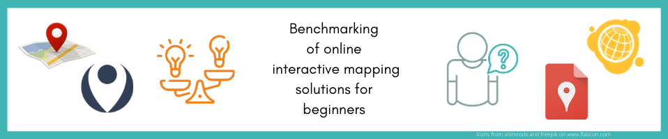 Benchmarking of online interactive mapping solutions for beginners