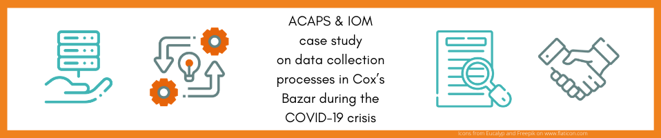 ACAPS & IOM case study on data collection processes in Cox's Bazar during the COVID-19 crisis